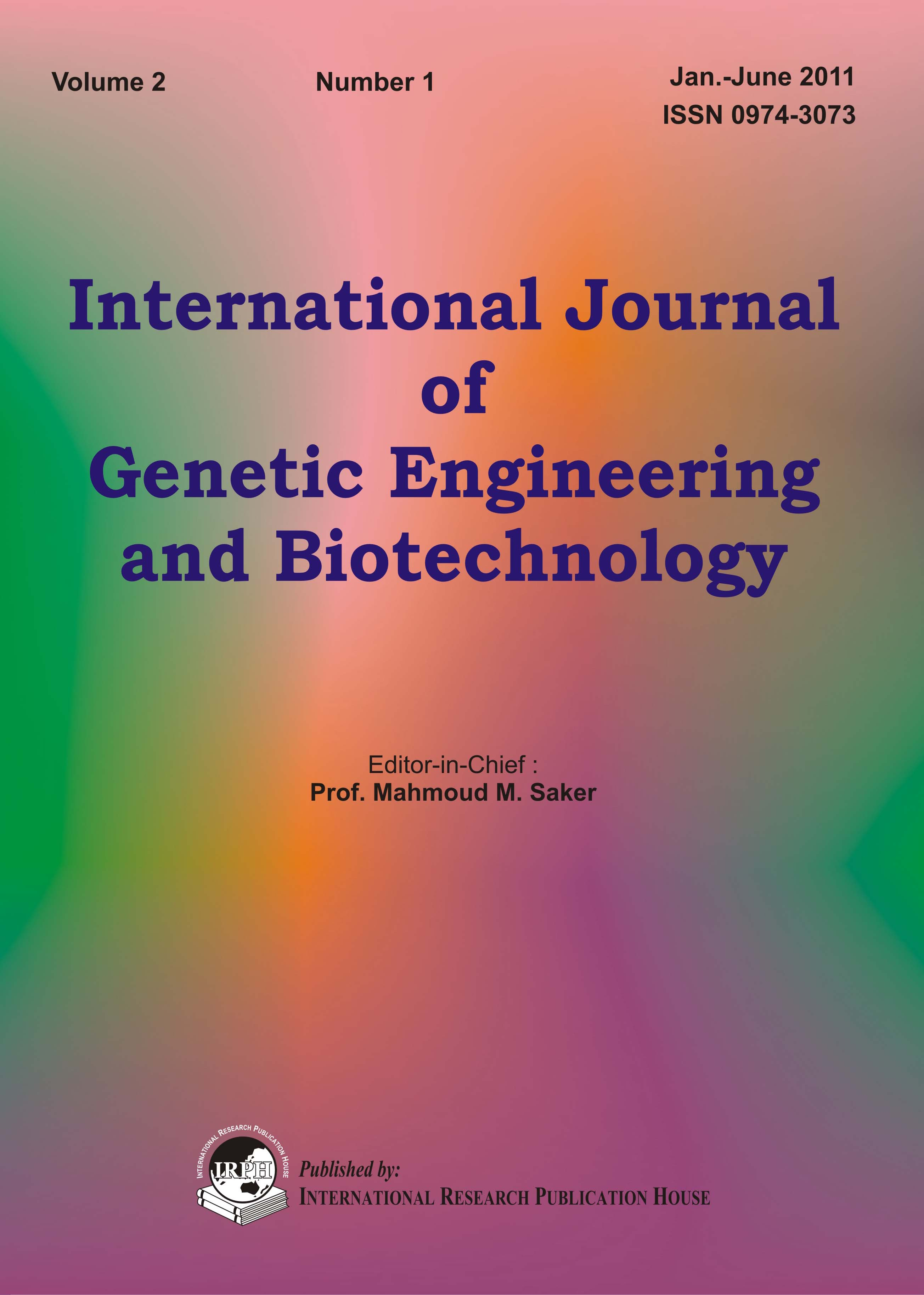 published research papers in biotechnology
