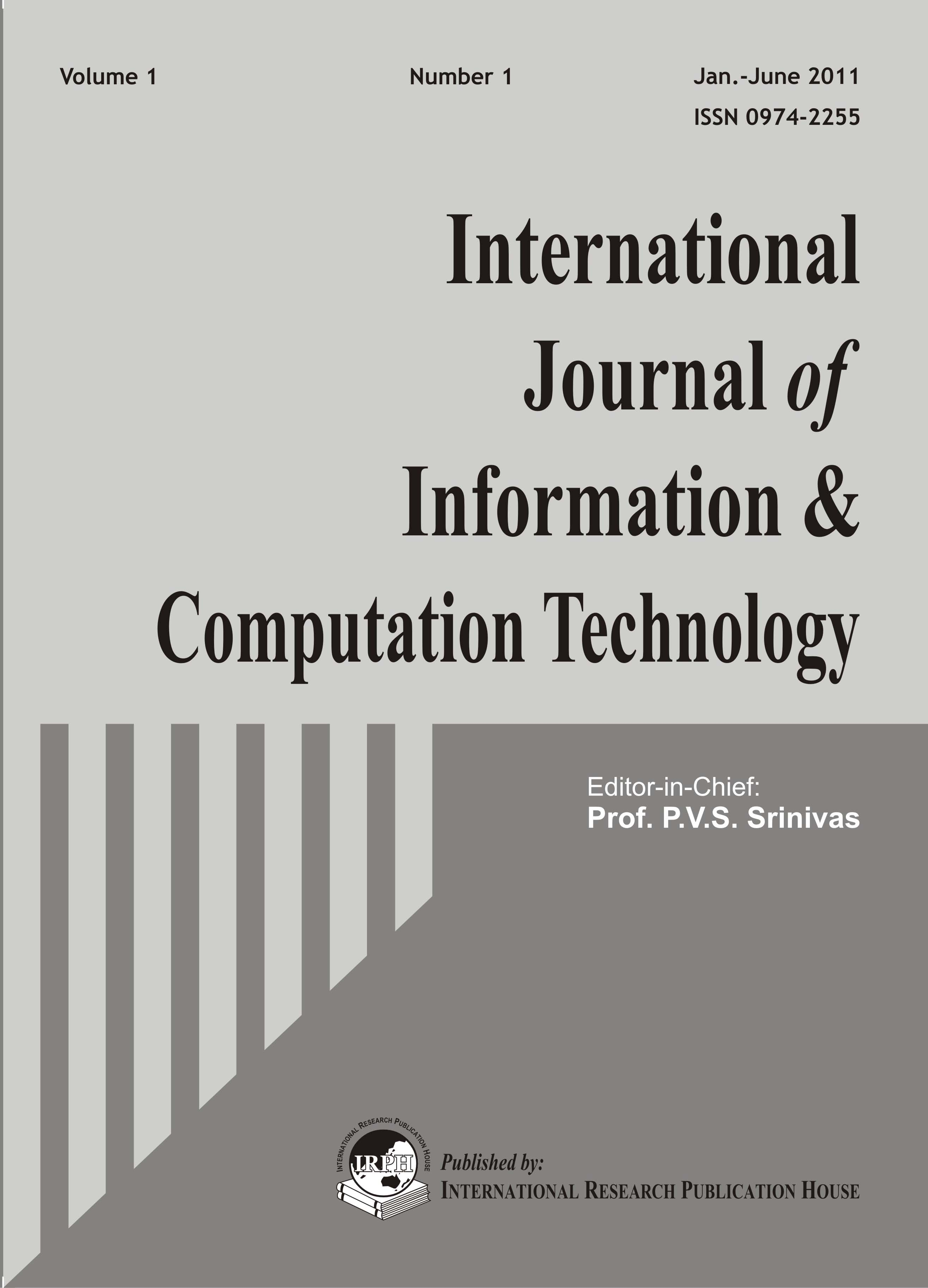 Ijict International Journal Of Information Sciences And